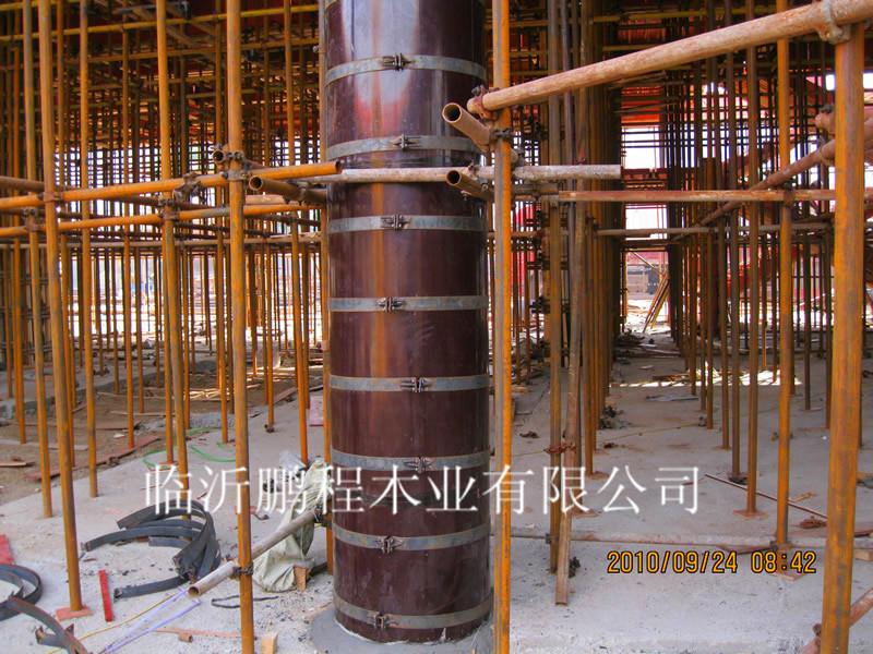 圆柱子模板